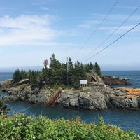 Photo taken at Head Harbour Lightstation - East Quoddy by Lane R. on 8/6/2016