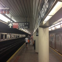 Photo taken at MTA Subway - Church Ave (B/Q) by Chãcha on 7/20/2013