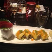 Photo taken at Nisen Sushi by Gabby F. on 3/14/2013