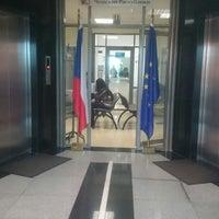 Photo taken at Посольство Чешской Республики by Zarina A. on 10/14/2015