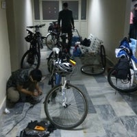 Photo taken at inönü üniversitesi bisiklet odasi by Harun K. on 10/28/2014