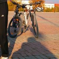 Photo taken at inönü üniversitesi bisiklet odasi by Harun K. on 11/28/2015