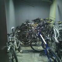 Photo taken at inönü üniversitesi bisiklet odasi by Harun K. on 6/22/2014