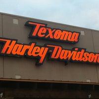 Photo taken at Texoma Harley-Davidson by Gwen L. on 1/4/2013