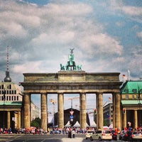Photo taken at Brandenburg Gate by Arthur X. on 7/13/2013