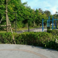 Photo taken at Nawaminphirom Park (Bueng Lam Phang Phuai) by Talerngsak S. on 12/23/2012