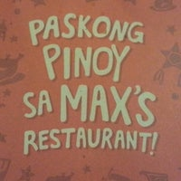 Photo taken at Max's Restaurant by aajoseph A. on 12/25/2014