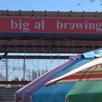 Photo taken at Big Al Brewing by Road Dog Tours on 8/20/2013
