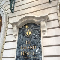 Photo taken at InterContinental Paris Le Grand Hôtel by Arthur J. on 12/29/2012