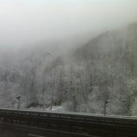 Photo taken at Bolu Dağı Tüneli by Yücel Y. on 12/20/2012
