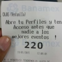 Photo taken at Banamex by Robert M. on 1/19/2015