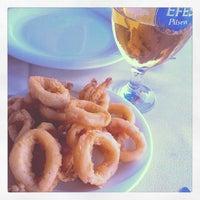 7/17/2013 tarihinde Barış B.ziyaretçi tarafından Cunda Deniz Restaurant'de çekilen fotoğraf
