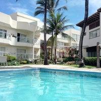 Photo taken at Mar Brasil Hotel Salvador by Kanji I. on 11/23/2014