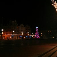 Photo taken at Rynek by Izabela B. on 12/25/2013