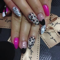 Photo taken at Crystal Nails & Beauty by Zehra Ş. on 5/10/2014