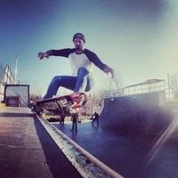 Photo taken at Skatepark Usmate - Bonassodromo by Stefano C. on 2/24/2014