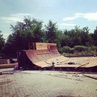 Photo taken at Skatepark Usmate - Bonassodromo by Stefano C. on 8/19/2013