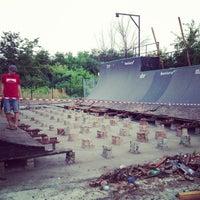 Photo taken at Skatepark Usmate - Bonassodromo by Stefano C. on 7/4/2013