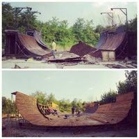 Photo taken at Skatepark Usmate - Bonassodromo by Stefano C. on 8/30/2013