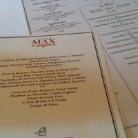Photo taken at Brasserie Max by kdfa on 10/23/2015
