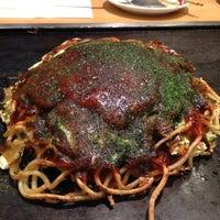 Photo taken at お好み焼き 鶴橋風月 ヨドバシAKIBA店 by susanoh_xxx on 12/6/2012