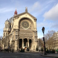 Photo taken at Église Saint-Augustin by Romeo P. on 12/30/2012