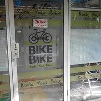 Photo taken at BikeBike (Rock Your Bike) by Rifqie R. on 12/7/2012
