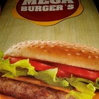 Photo taken at Mega Burger's by Gabriel P. on 1/12/2013