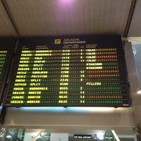 Photo taken at Zagreb International Airport (ZAG) by Tomislav K. on 10/19/2012