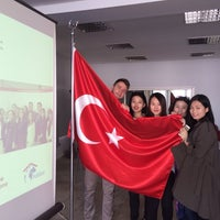 Photo taken at UNDP Istanbul Center For Private Sector In Development by Tomislav K. on 4/16/2014