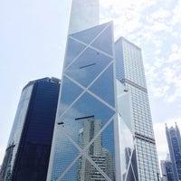 Photo taken at Bank of China (Hong Kong) 中國銀行(香港) by Jennifer L. on 6/12/2014