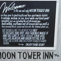 Photo taken at Moon Tower Inn by Vlad D. on 5/25/2013