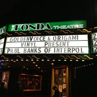 Foto tirada no(a) The Fonda Theatre por Alicia F. em 12/11/2012