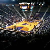 Photo taken at Bramlage Coliseum by Bryce A. on 1/12/2013
