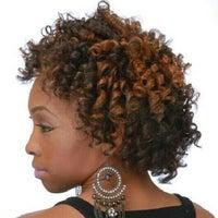 Photo taken at Salon Park Meyerland - #1 Black Hair Salon in Houston by Salon M. on 12/29/2012