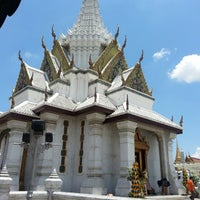 Photo taken at Bangkok City Pillar Shrine by lion k. on 5/4/2013