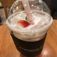 Photo taken at A TWOSOME PLACE by TK on 3/15/2018