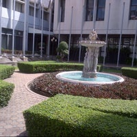 Photo taken at Assumption University by Tena P. on 10/5/2012