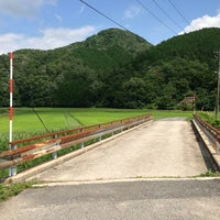 Photo taken at 告白橋 by まつやま 旅. on 7/22/2013