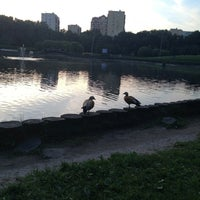 Photo taken at Большой пруд by Liza G. on 6/14/2013
