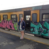 Photo taken at Cape Town Station Deck by Елена П. on 11/17/2013