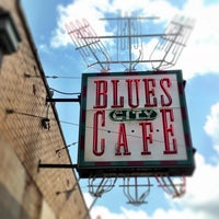Photo taken at Blues City Cafe by Paul D. on 7/1/2013