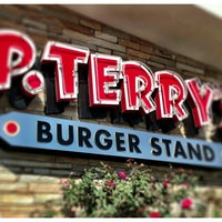 Photo taken at P. Terry's Burger Stand by Paul D. on 2/8/2013