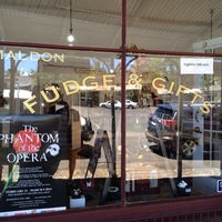 Photo taken at The Fudge Shop by Bbox B. on 1/26/2014
