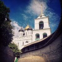 Photo taken at Псков / Pskov by Anatoly L. on 7/7/2014
