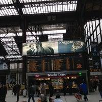 Photo taken at Paris Lyon Railway Station by Jeff F. on 3/28/2013