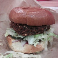 Photo taken at Little Big Burger by Cynthia A. on 2/28/2013