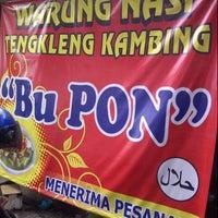 """Photo taken at Tengkleng Kambing """"Bu Pon"""" Ketandan by Eko S. on 12/6/2012"""