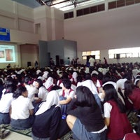 Photo taken at SMA Taruna Bakti by Dani F. on 1/30/2014