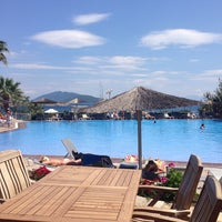 Photo taken at İsis Hotel Pool by Tufan A. on 5/11/2014